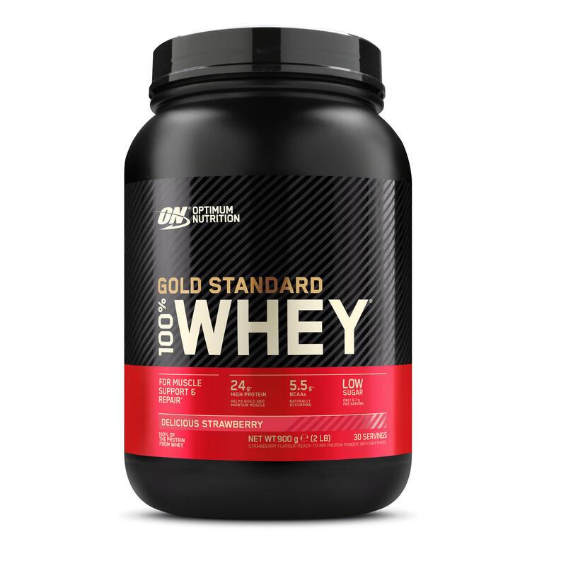 Proteína whey gold standard fresa 908 g