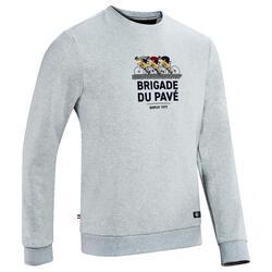 """SWEAT GRIS COLLECTION """"BRIGADE DU PAVÉ"""""""
