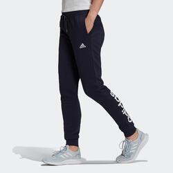 Pantaloni donna Adidas LINEAR blu