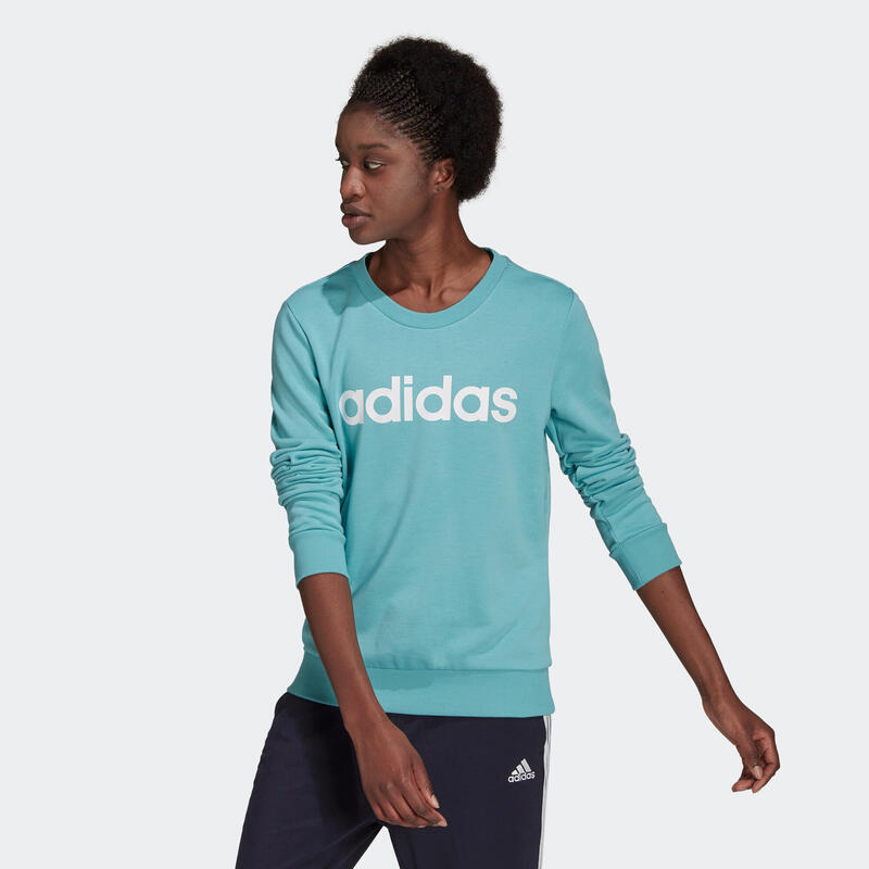 Sudadera Adidas Fitness Adidas Mujer Verde