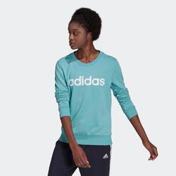 Felpa donna Adidas verde
