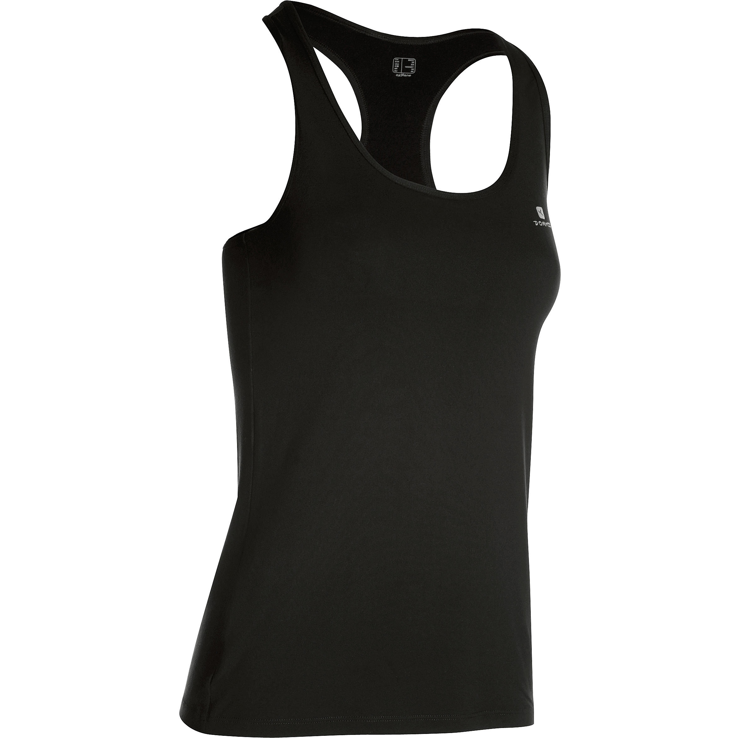 100 My Top Women's Cardio Fitness Tank Top - Black