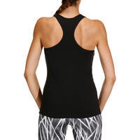 Playera sin mangas MY TOP fitness dama negro
