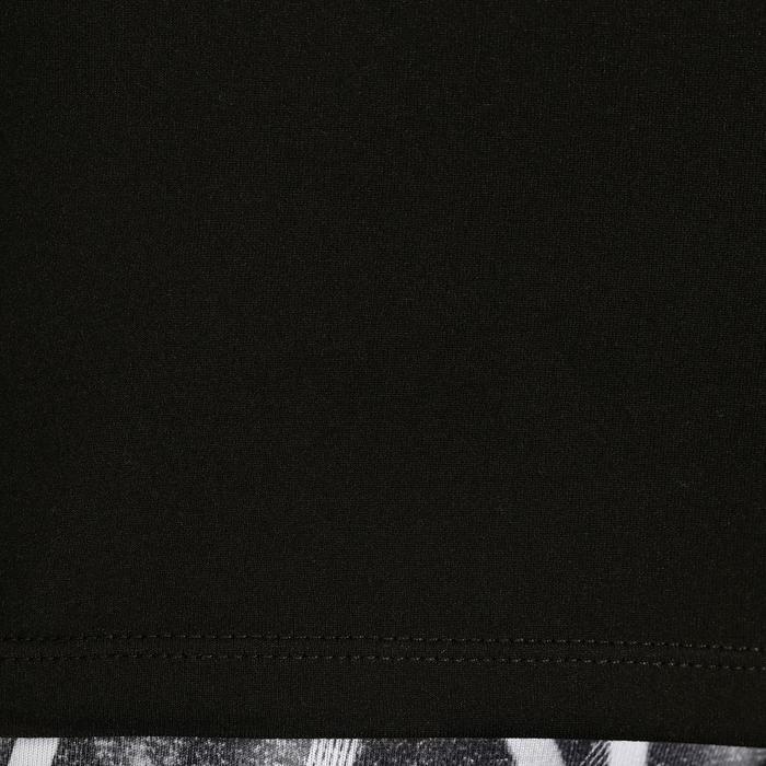 Camiseta sin mangas cardio fitness mujer 100 negro