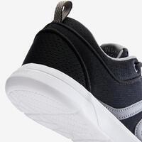 Soft 140 Mesh Fitness Walking Shoes - Black/White - Women's