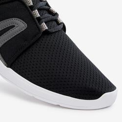 Chaussures marche urbaine femme Soft 140 Mesh noir