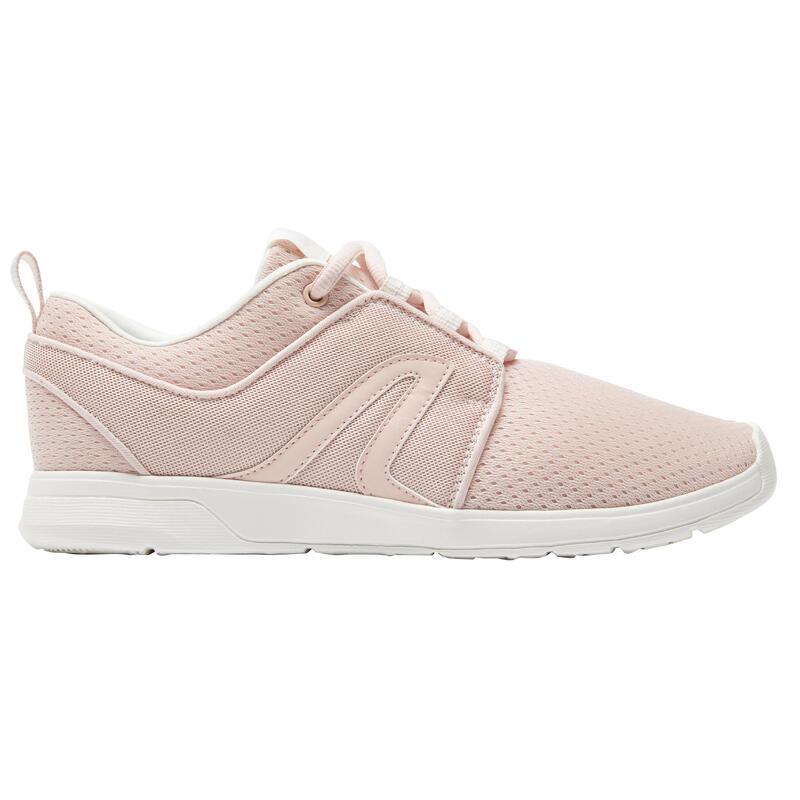 Chaussures marche urbaine femme Soft 140 Mesh rose