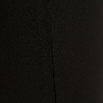 Camiseta manga sisa fitness mujer MY TOP negro
