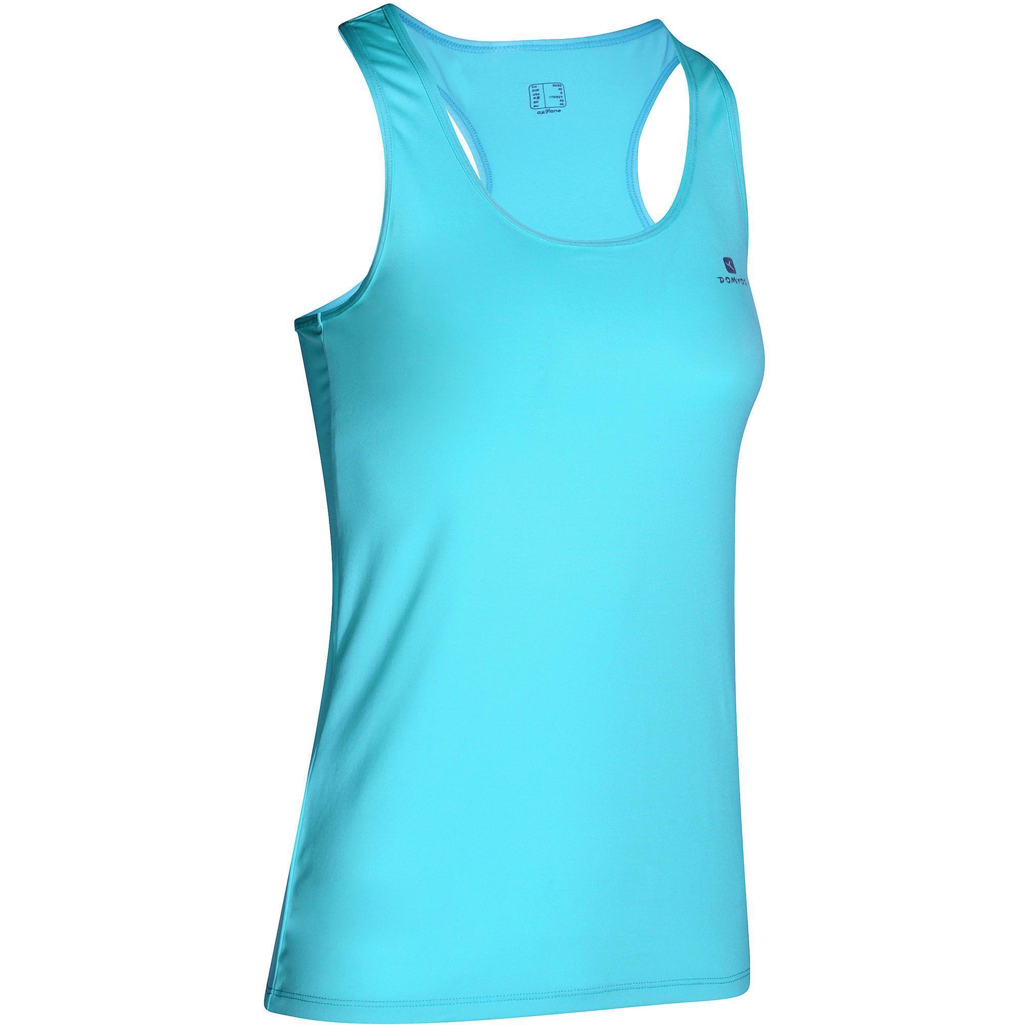 Женская одежда для фитнеса и силовых тренировок   Domyos by Decathlon ddcdb87b286