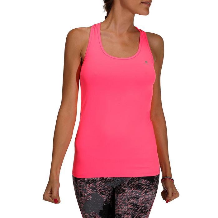 Débardeur fitness cardio femme MY TOP - 205366