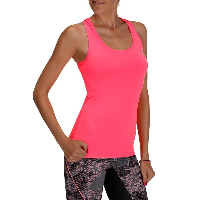 Débardeur fitness cardio femme MY TOP - 205367