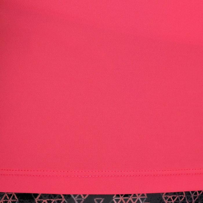 Camiseta sin mangas cardio fitness mujer 100 negro Domyos  0a06881167b0