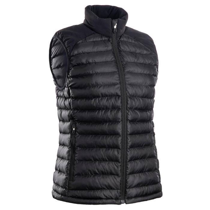 Golf Steppweste warm CW500 Damen schwarz
