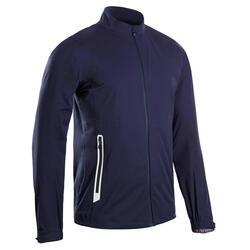 Casaco de Chuva Impermeável de Golf RW500 Homem Azul marinho