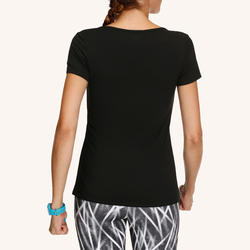Energy Women's Fitness T-Shirt - Black