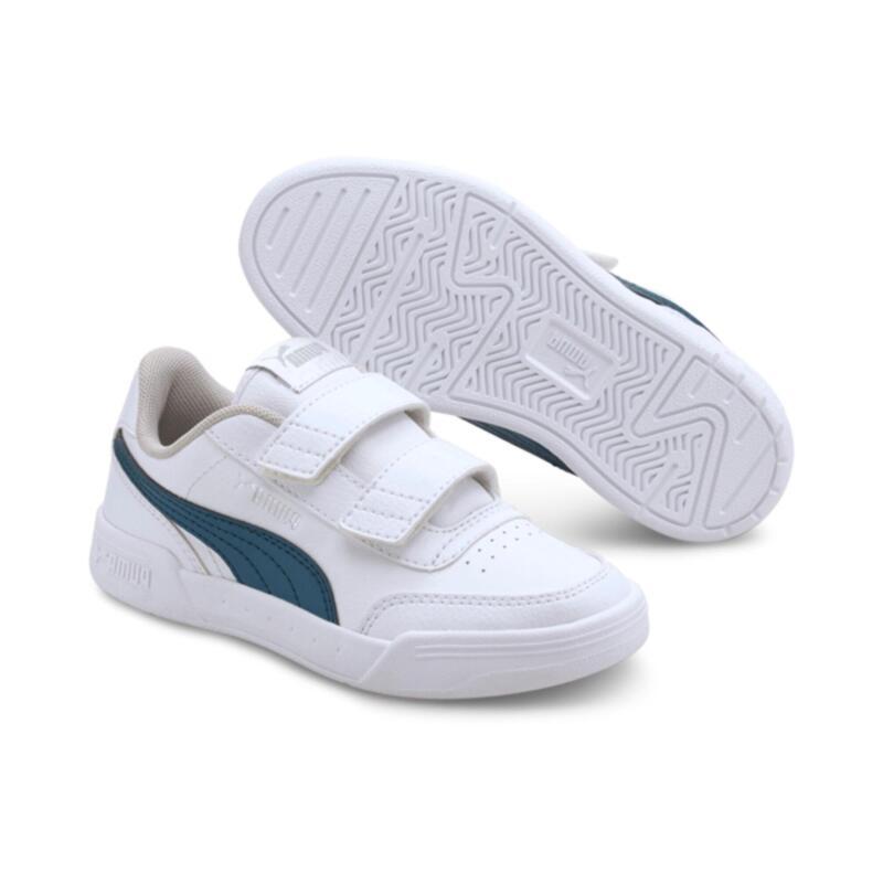 Zapatillas de Tenis Puma Niños Blanca y Azul