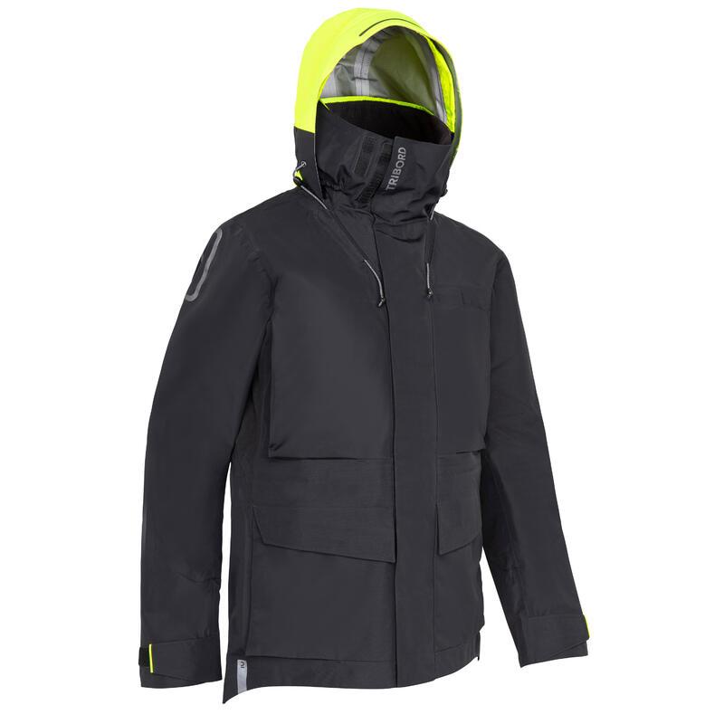 Men's Sailing jacket Offshore 900 - Black