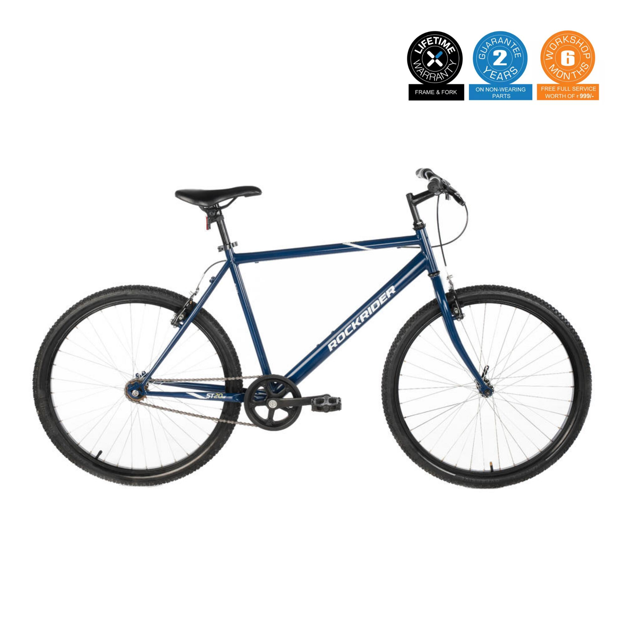 MTB ST 20 High Frame BLUE 26 inch