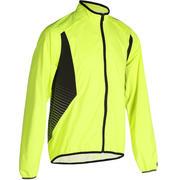500 Waterproof Cycling Jacket - Yellow