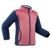 Baby Ski/Sledge Fleece Jacket MIDWARM Pink and Blue