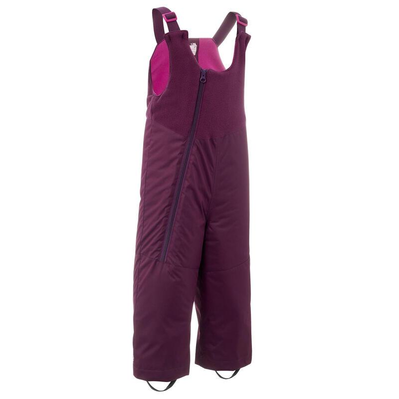 Salopette ski bébé WARM violette
