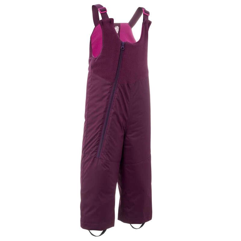 Îmbrăcăminte schi copii Schi si Snowboard - Salopetă săniuș WARM Mov Copii LUGIK - Imbracaminte schi copii