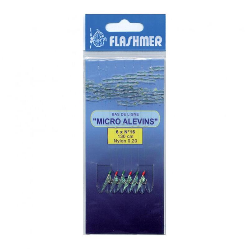 Onderlijn voor zeevissen Micromit 8 haken nr. 16