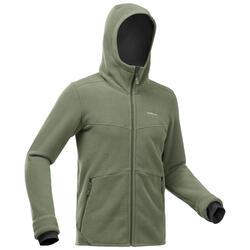 Men's Warm Hiking Fleece Jacket - SH100 U-Warm