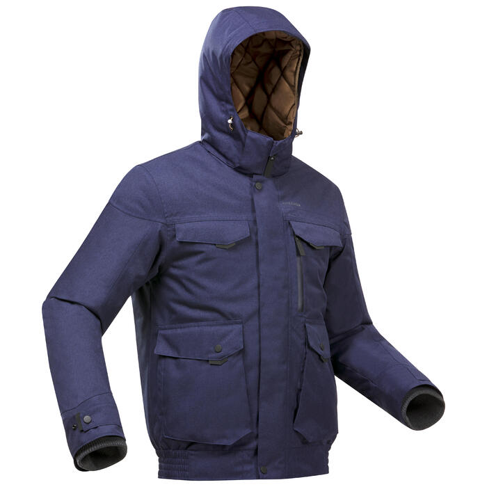 Winterjacke Blouson Winterwandern SH100 wasserdicht X-Warm -10°C Herren