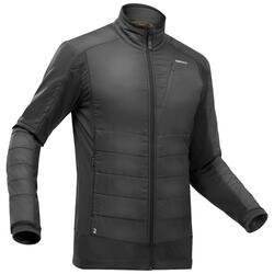 Men's Hybrid Warm Hiking Fleece Jacket SH900 X-Warm