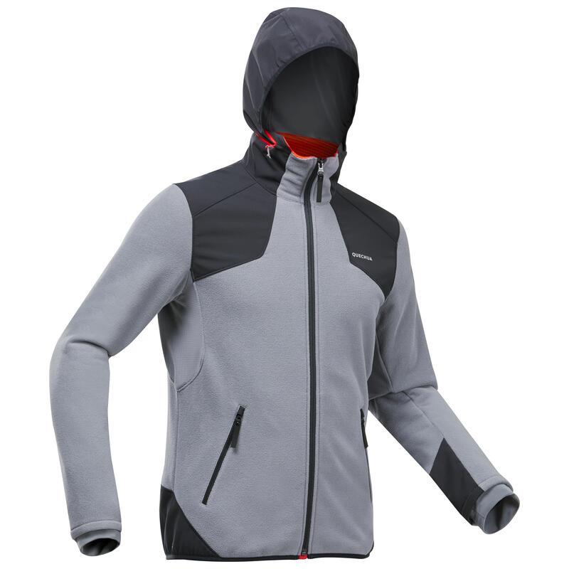 Casaco quente impermeável de caminhada -SH500 X-WARM - Homem