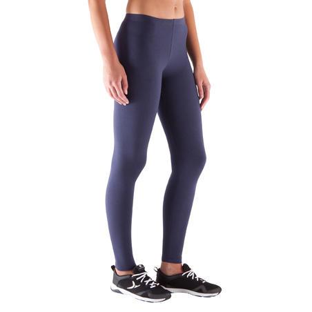 Salto Women's Slim-Fit Fitness Leggings - Navy Blue