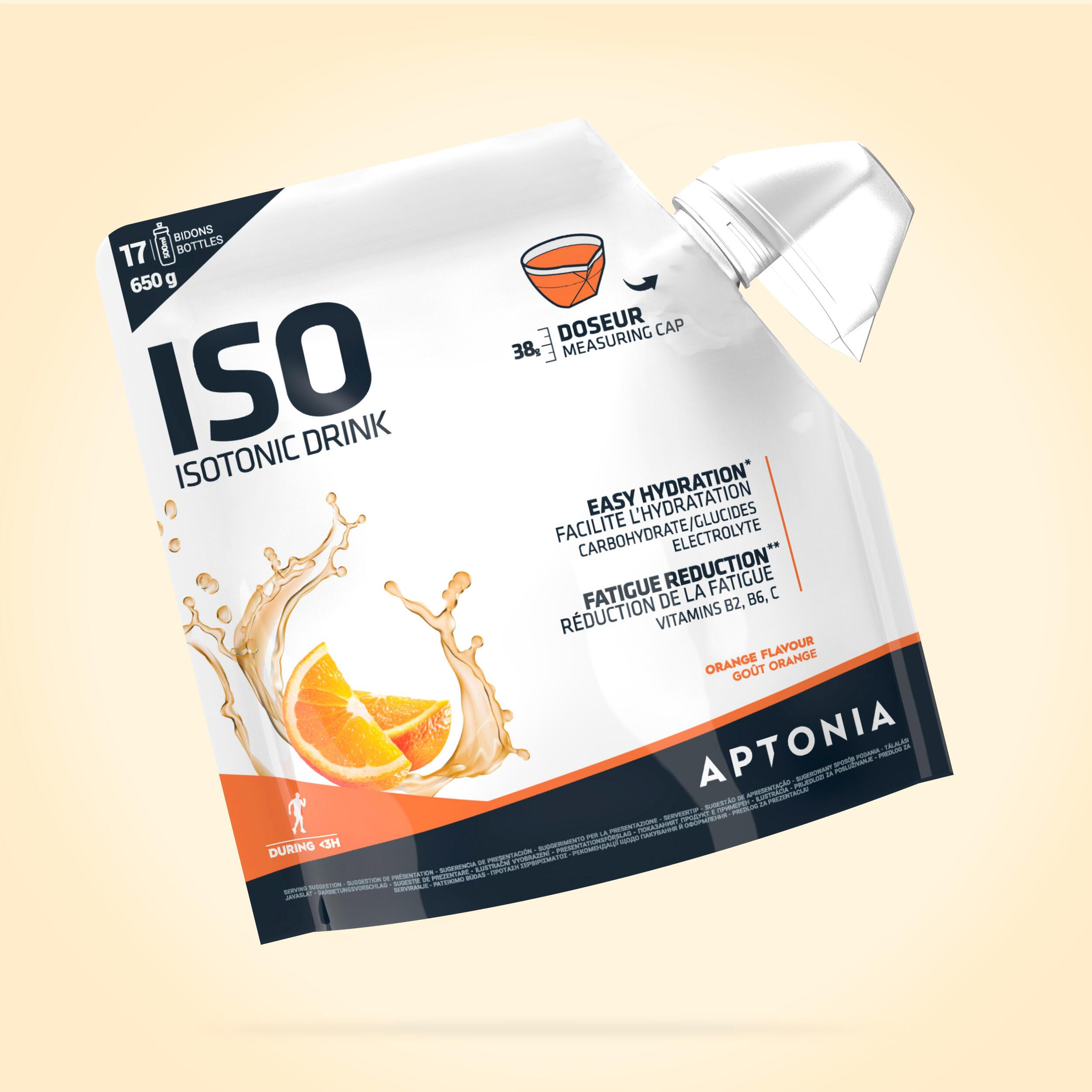 APTONIA. Bevanda isotonica in polvere ISO arancia 650 g