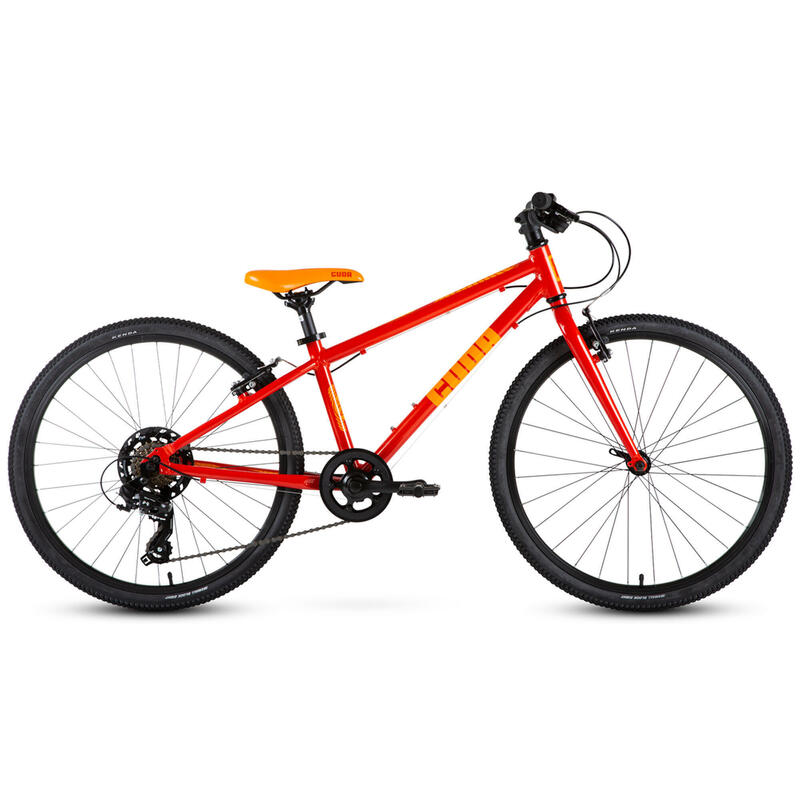 """Cuda Trace Kids Bike, Orange - 24"""""""