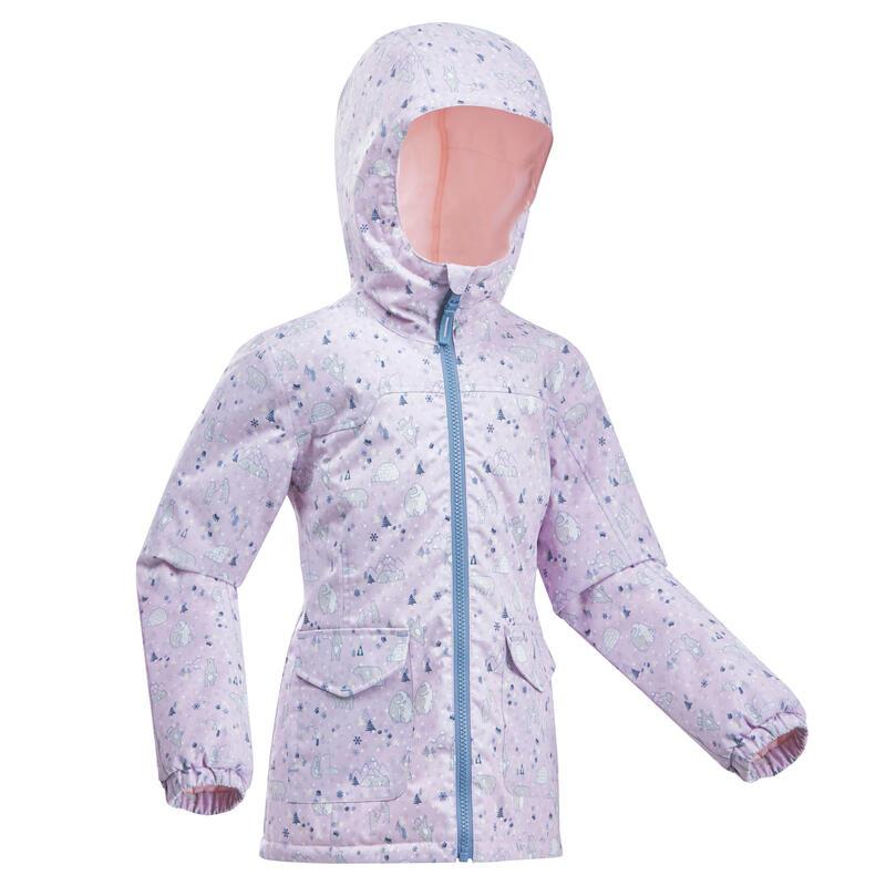 Kids' Waterproof Winter Hiking Jacket SH100 Warm 2-6 Years
