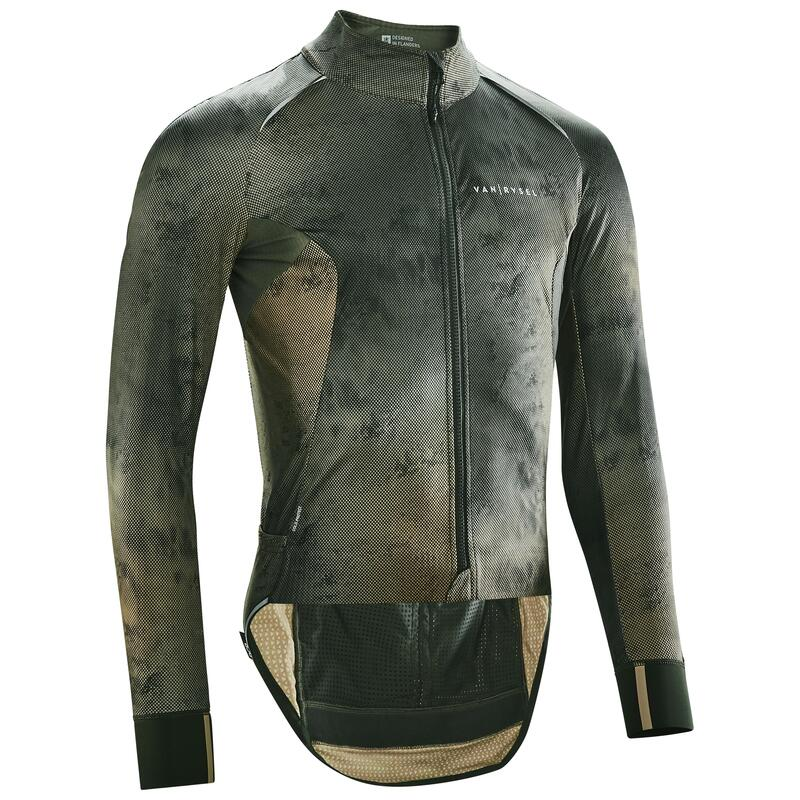Giacca invernale ciclismo RACER mimetica