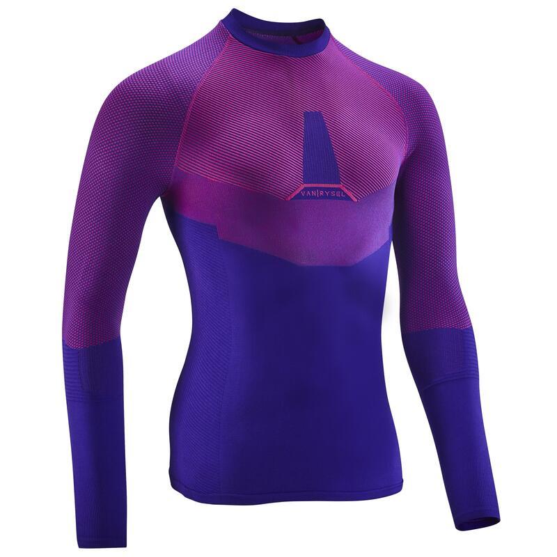 Spodní cyklistické tričko Training fialové