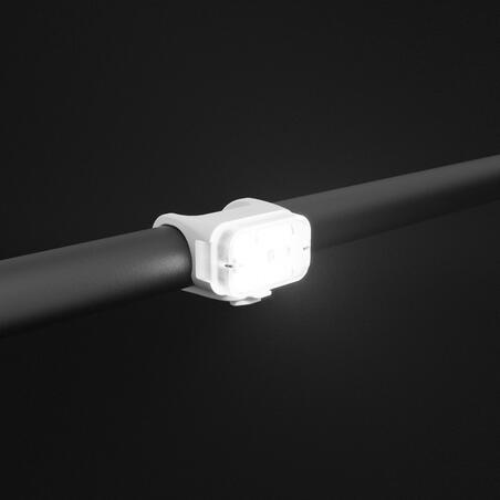 CL 500 LED Lampu Sepeda Depan/Belakang USB - Putih
