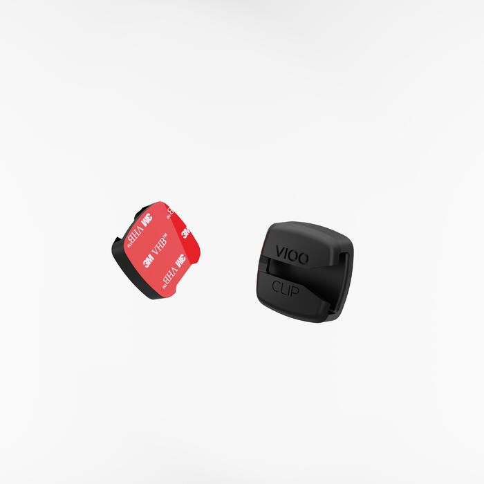 Fahrradbeleuchtung LED CL 500 Vorder- und Rücklicht USB gelb