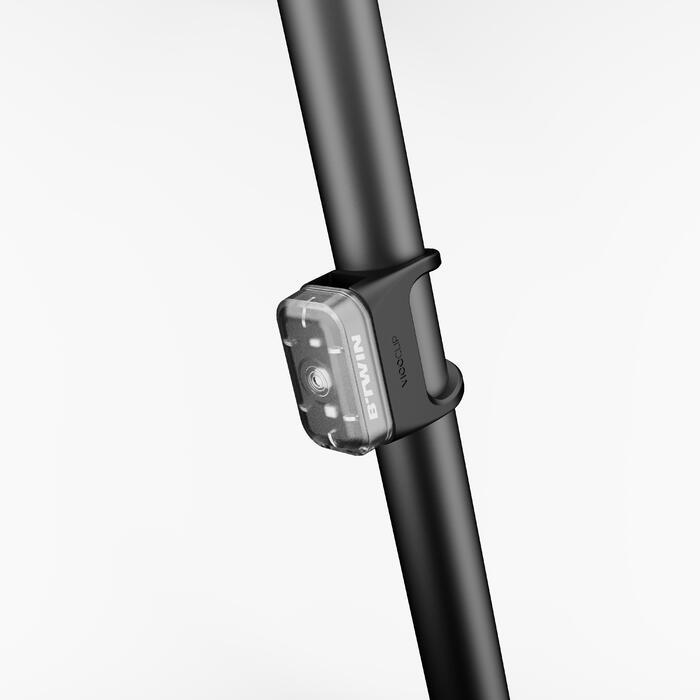 Fahrradbeleuchtung LED CL 500 Vorder- und Rücklicht USB schwarz