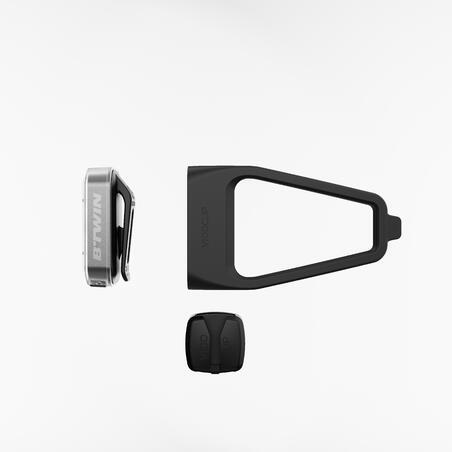 """Priekinio ir galinio USB LED žibintų dviračiui rinkinys """"ST 500"""""""