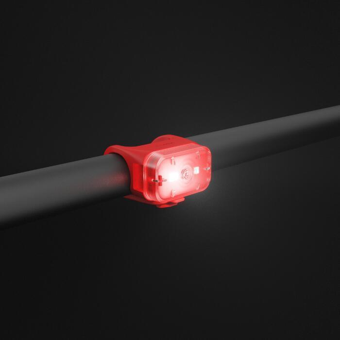 ECLAIRAGE VELO LED CL 500 AVANT/ARRIERE ROUGE USB