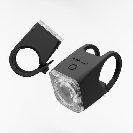 ערכת תאורה קדמית/אחורית לאופניים ST 540 USB