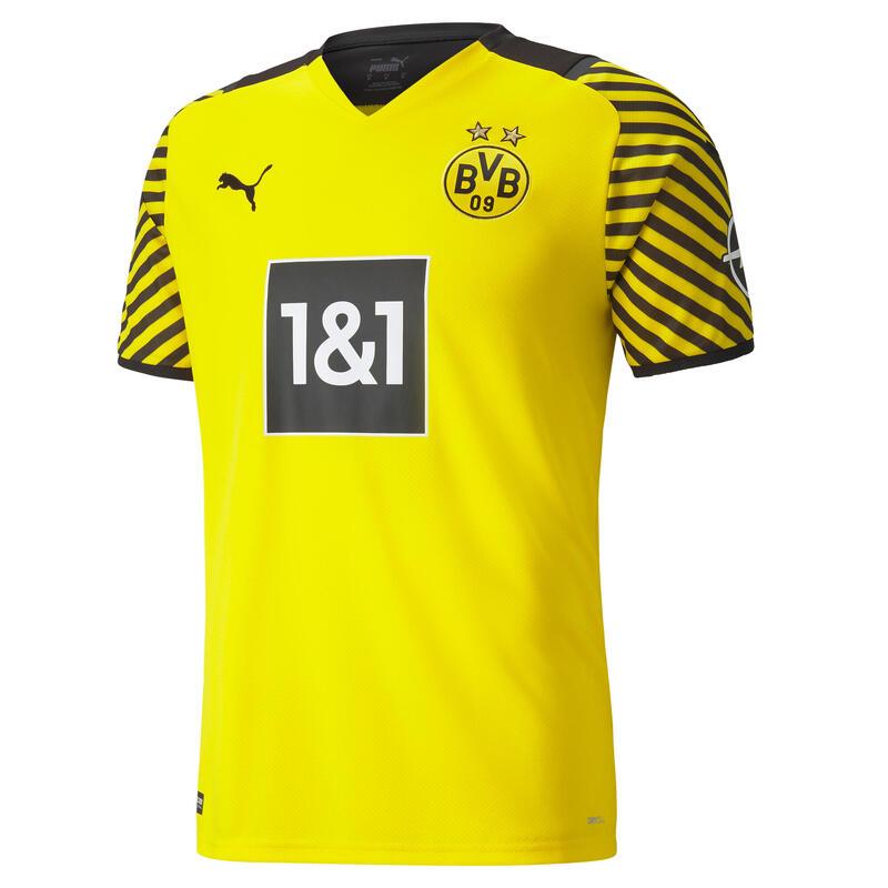 Voertbalshirt voor volwassenen Dortmund thuis 21/22