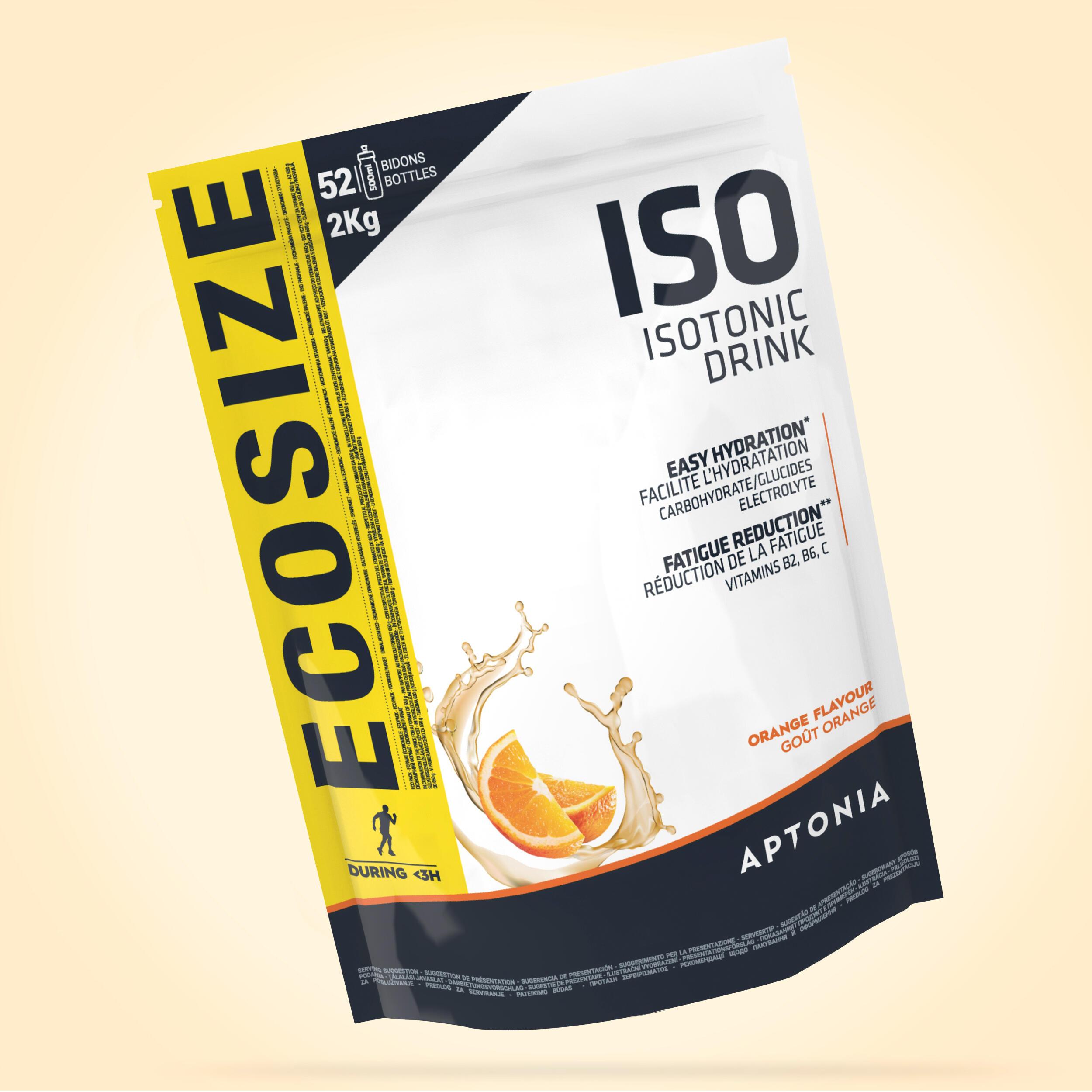 APTONIA. Bevanda isotonica in polvere ISO arancia 2 kg