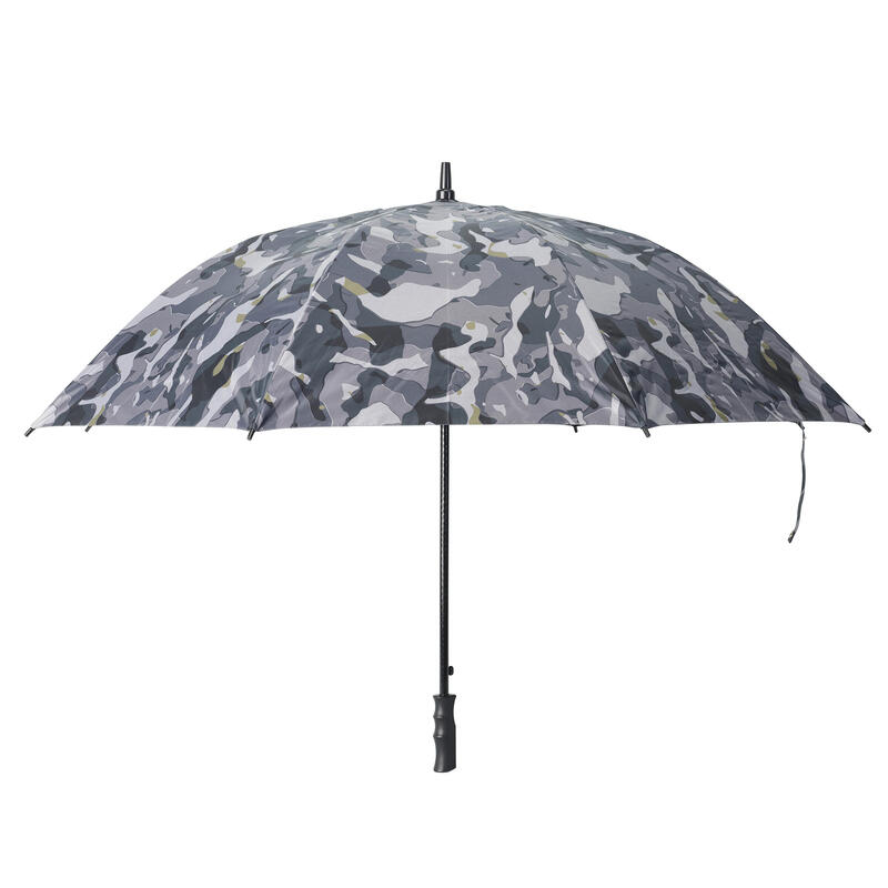 Parapluie chasse camouflage Woodland gris