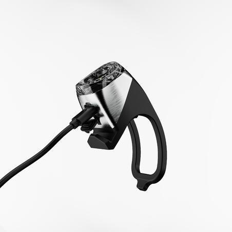 FL 900 LED USB Front Bike Light - Black