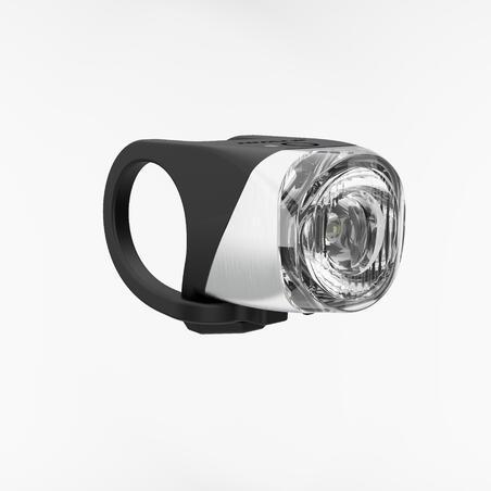 ភ្លើងបំភ្លឺកង់ LED USB ខាងមុខ FL 900 - ខ្មៅ