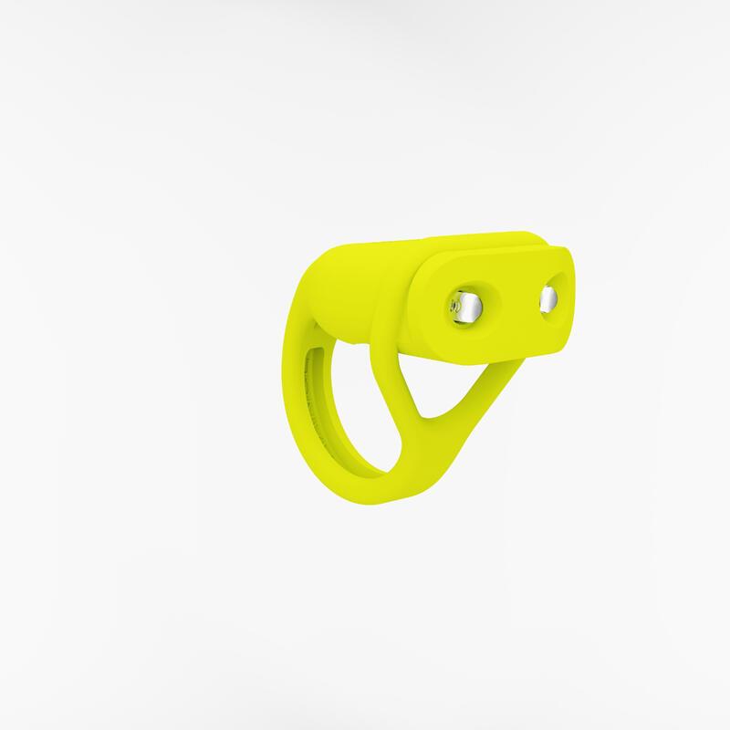 Pilli Led Bisiklet Aydınlatması - Ön - Sarı - SL100