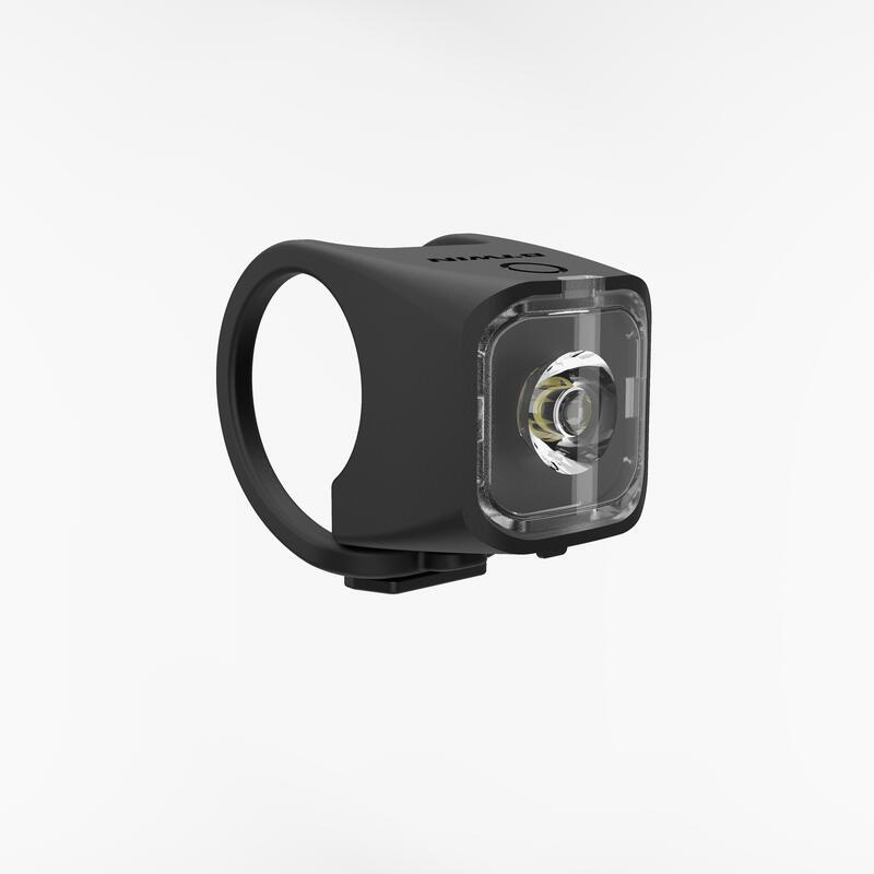 ไฟหน้า/ท้ายจักรยาน LED รุ่น SL 500 ชาร์จไฟผ่าน USB ได้ (สีดำ)